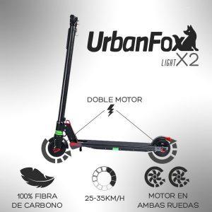 Urban Fox Light X2 – Doble Tracción