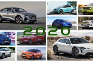Los 20 coches eléctricos más destacados de 2020