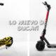Lo Nuevo de Ducati en Movilidad Eléctrica, Sus Patinetes Eléctricos.