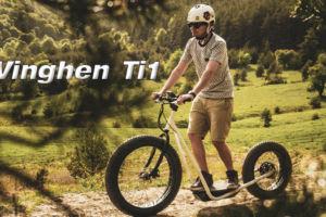 El híbrido entre patinete eléctrico y Ebike MTB se llama Vinghen Ti1