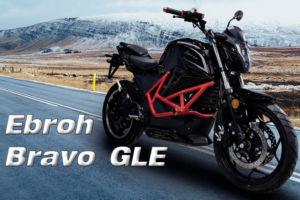 La moto eléctrica Ebroh Bravo GLE se cuela en el segmento naked