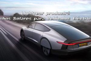 Lightyear producirá techos solares para vehículos eléctricos