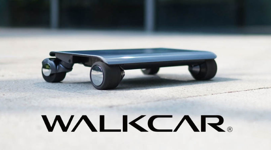 Walkcar, el patinete eléctrico más pequeño del mundo